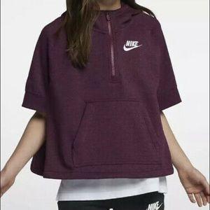 Nike sweater poncho